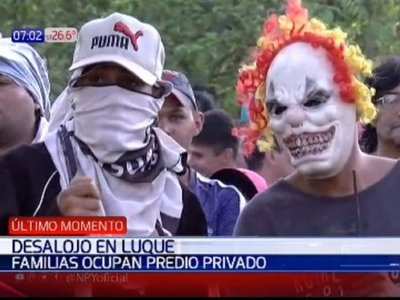 Abogado pide evitar una matanza en desalojo de familias en Luque