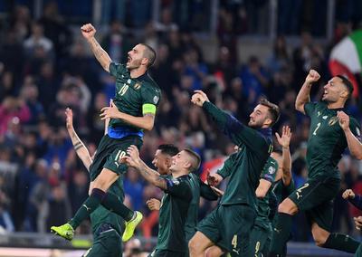Italia sella su clasificación a la Euro 2020