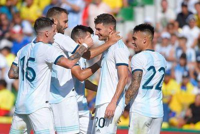Argentina ganó, gustó y goleó