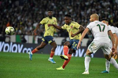 Colombia zozobra ante la campeona de África