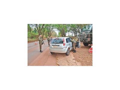 Militares inician  rigurosos controles en  frontera esteña