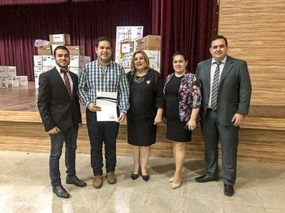 Secretaría de Cultura donó libros a bibliotecas de Concepción