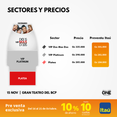 Comedia Dos Más Dos de Adal Ramones se presenta en Paraguay