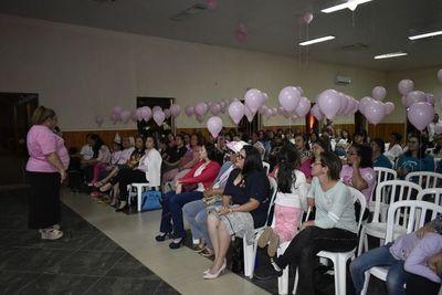 Instan a la prevención del cáncer del mama en Itauguá