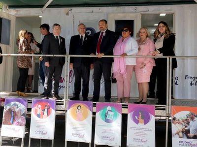 Clínica Móvil disponible en sede judicial de Asunción