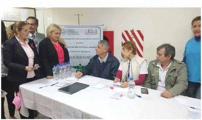 Semana Rosa en la Circunscripción de Central