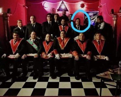 Masones aclaran: Carlos Portillo no es nuestro miembro