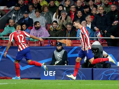 Álvaro Morata salva al Atlético de Madrid