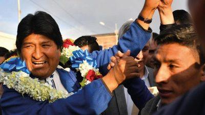 Reelección de Evo Morales