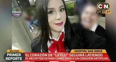 Paciente recibe corazón de estudiante fallecida tras accidente