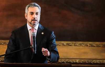 """Mario Abdo: """"Hay gente que quiere un enfrentamiento entre paraguayos"""""""