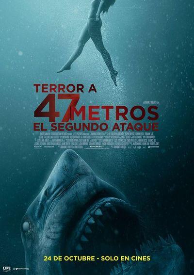 Terror a 47 metros: El segundo ataque (2D)