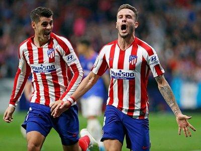 Atlético de Madrid festeja y sube en la tabla