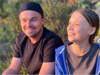 """Leo DiCaprio sobre Greta Thunberg:  """"Es la líder de nuestro tiempo"""""""