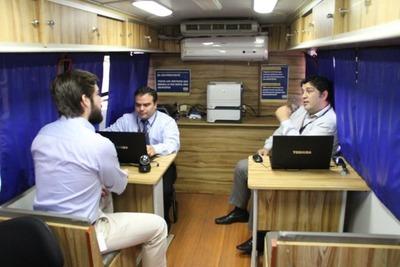 PAC Móvil brinda sus servicios gratuitos en el Departamento de Caaguazú