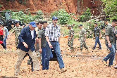 Mandatario verificó limpieza en Ita Pytã Punta