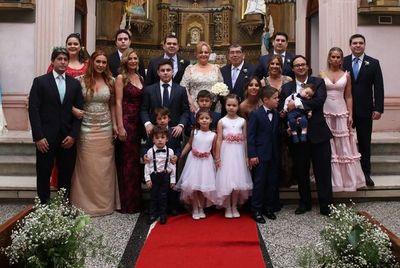 Las Bodas de Oro de Pablo Núñez y Nélida Martinetti de Núñez
