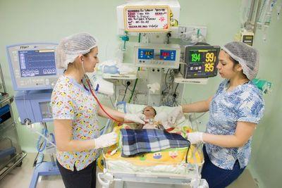 Hospital Los Ángeles registra 45.938 nacidos