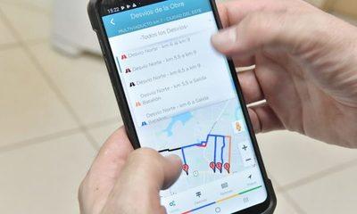 Aplicativo facilitará información sobre desvíos en zona de multiviaducto