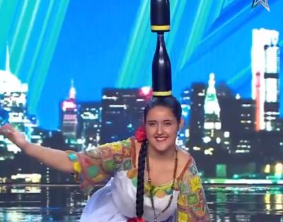 Paraguayita causa furor en Got Talent de España