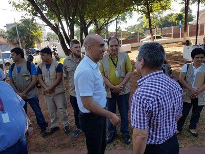 Intendente pidió a Ministro coordinar acciones en la lucha contra el dengue