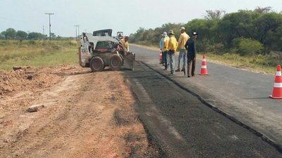 MOPC adjudicó US$ 8,8 millones para asfaltar caminos