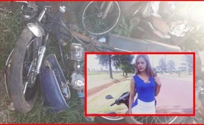 Joven fallece tras ser embestida por moto que jugaba carrera