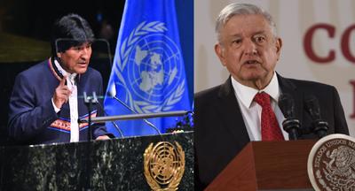 "Por salvarle ""la vida"", Evo Morales agradeció a López Obrador en México » Ñanduti"