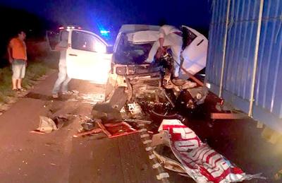 Chofer del diario Popular sufre graves heridas en violento accidente rutero