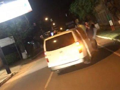 De fiesta con camioneta del SNPP en San Juan Nepomuceno