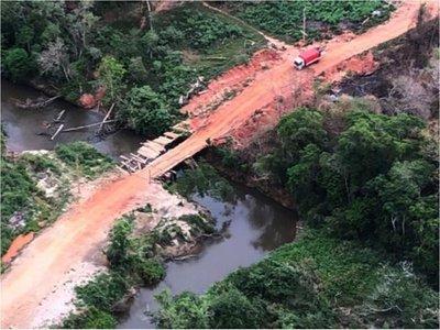Advierten  daño irreversible si no para la  deforestación  en reserva