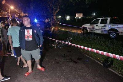 Persecusión de motoasaltantes culmina con un fallecido, un herido y dos prófugos