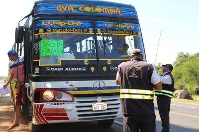 Planifican disponibilidad de buses para operativo Caacupé 2019 » Ñanduti