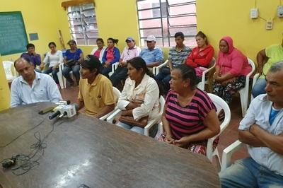 Pobladores de San Roque desmienten acusación de atentados contra sojeros