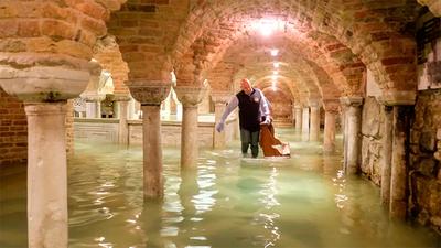 """Venecia sufre una inundación """"apocalíptica"""""""