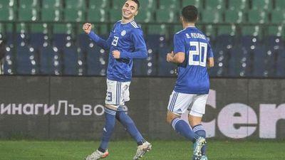 0-1. Almirón le da el triunfo a Paraguay ante una débil Bulgaria