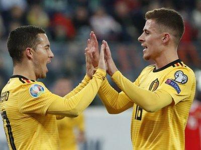 Hazard, una actuación magistral con Bélgica