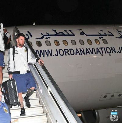 Messi y Argentina llegan a Israel