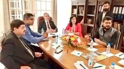 Inversionistas de la India analizan inversión en sector turístico del Paraguay