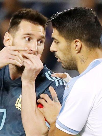 Argentina y Uruguay empatan