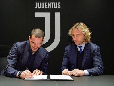 Bonucci renueva con Juventus hasta 2024