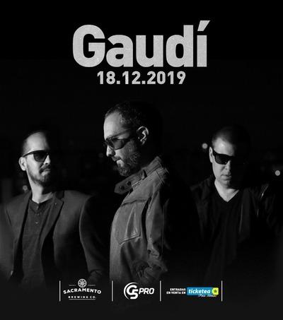 Clásica banda de pop rock, Gaudí de regreso con un show en Diciembre