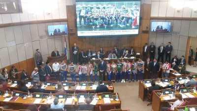 Nombran ciudadanos ilustres a jugadores de la Selección Paraguaya de Futsal C13