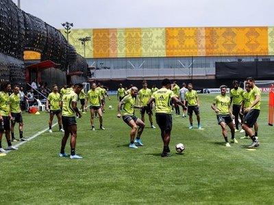 """Flamengo arma una """"jaula"""" para preparar final bajo absoluto secreto"""