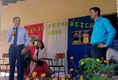 Ministro Ramírez Candia realizó visita educativa en Paraguarí
