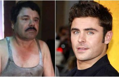 'El Chapo Efron': joven se vuelve viral por su parecido al Chapo Guzmán y Zac Efron