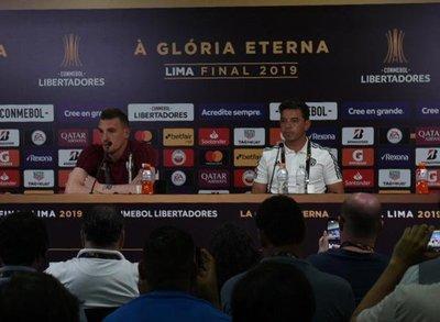 Marcelo Gallardo confirma el equipo para la final ante Flamengo
