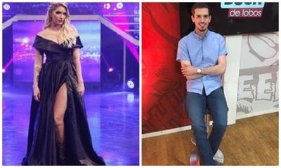 """Panelista de Tv se declaró """"fan de Carmiña Masi"""""""