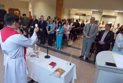 Se celebró una misa en Caacupé en conmemoración