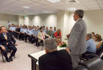 Reunión interinstitucional a fin de coordinar labores de justicia